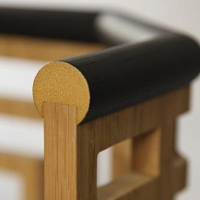 détail rotin et bambou
