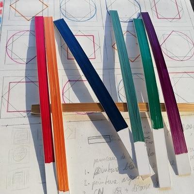 échantillons couleur