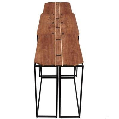 tables hautes et modulaires papioane©